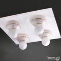 【光的魔法師 Magic Light】美術型輕鋼架燈具 卡森 輕鋼架四燈