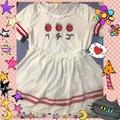 🎀日系軟妹草莓洋裝 /🎀上衣+紗裙 /超萌 💕夢幻😻
