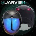 ♦︎〈JARVISH〉Flash F1 智慧安全帽 黑豹黑 XXL