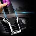 Universal Gravity Auto Lock Metal Air Vent Car Mount Phone Holder for Mobile Phone