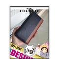 LADY專業代購 COACH 75087 COACH 75087 leather新款拼色 純皮休閒時尚錢包