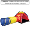 Discovery Kids Adventure Play Tent with Removable Tunnel