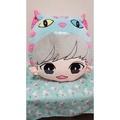 全新 EXO 燦烈 笑笑貓 抱枕 CHANYEOL 娃娃 靠墊 枕頭