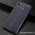 For Huawei Nova 3i Case Lichee Texture Soft Silicone Back Cover for Huawei Nova 3i Phone Case