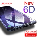 GPNACN 6D Tempered Glass For Samsung Galaxy S8 Plus Glass Note 8 S9 Screen Protector Film For Samsung S9 Plus Full Cover Glass