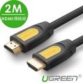 【綠聯】2M HDMI2.0傳輸線 Black Orange版