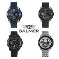 免運費BALMER 賓馬 重量級馬帥真三眼手錶(7935)
