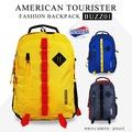 《熊熊先生》Samsonite 美國旅行者 雙肩包 雙色造型後背包 BUZZ 多功能休閒旅遊包 登山包 + 好禮