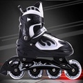 成人溜冰鞋兒童全套裝青少年直排輪滑旱冰鞋滑冰鞋男女可調節