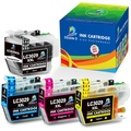 Double D (TM) LC3029 XXL Compatible Brother LC3029 LC 3029 XXL Ink Cartridges, Use with MFC-J5830DW (XL), MFC-J5930DW, MFC-J6535DW (XL), MFC-J6935DW (1 LC3029BK,1 LC3029C,1 LC3029M,1 LC3029Y) 1Set
