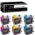 JinHan Compatible Ink Cartridge Replacement for Brother LC3029 XXL LC3029BK LC 3029 to use with MFC-J5830DW MFC-J5830DWXL MFC-J5930DW MFC-J6535DW MFC-J6535DWXL MFC-J6935DW (6 Pack)