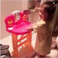 (dwj713)洗漱台-可升降兒童洗漱台嬰兒洗臉盆架子塑膠櫃子洗臉池寶寶洗手台