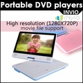 [INVIO] Portable DVD player 10(1027x600) PD-2400 / HDMI / Swivel Screen (180 degree)