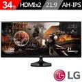 LG 樂金 34UM58-P 34吋 (21:9寬) AH-IPS 高級電競液晶顯示器