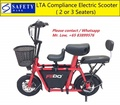 Fiido LTA Compliance Electric Scooter * Carry Up to 2 Children * 2 or 3 Seats * Baby Seat
