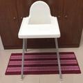二手寶寶餐桌兒童座椅ikea
