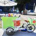全新電動咖啡腳踏餐車(含咖啡機)