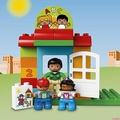【幸運貓】樂高得寶系列幼兒園10833男孩子女孩寶寶德寶duplo大顆粒拼裝玩具