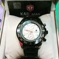 Kademan卡德曼手錶(正品) 三眼水鬼款玫瑰金