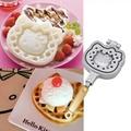 Hello Kitty 鬆餅烤盤 瓦斯烤模 戶外露營 鬆餅機 雞蛋糕 烤盤 烤模 鬆餅烤盤 露營 凱蒂貓模具