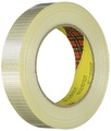 """Scotch T91589596PK 3M 8959 Bi-Directional Strapping Tape, 55 yd. Length, 1"""" Width, Clear (Pack of 6)"""