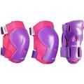 OXELOINLINE  迪卡儂 兒童直排輪 護具 尺寸XS(粉紫色)