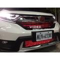 巨城汽車精品 本田 HONDA CRV5 五代 鋁網+氣霸燈 LED燈條 氣壩燈顏色可選