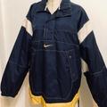 古著 NIKE刺繡鋪棉半拉式衝鋒上衣/防風/外套(寶島古著Vintage)