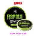 Rapala RAPARA (綠色 200 m) lapinova X 遊戲 200 米 2.0-3.0 號釣魚線主題石斑魚釣鱒魚 PE Hikoboshi-Fishing