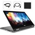 """Dell Inspiron 7000 2-in-1 Ryzen 7 12GB RAM 256GB SSD Full HD 13.3"""" Touch Screen Top Performance 2018 Laptop   4 Cores Up to 3.8Ghz CPU   DDR4   AMD Radeon RX Vega 10   WiFi   Bluetooth   Bonus Combo"""