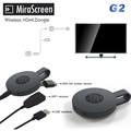 New MiraScreen G2 TV Stick Dongle Anycast Crome Cast HDMI WiFi Display Receiver Miracast Google Chromecast 2 Mini PC Android TV