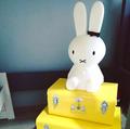 【限量現貨】Miffy米菲兔坐姿擁抱燈 【80cm高】 可愛療癒造型LED夜燈【Limiteria】