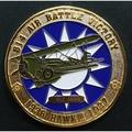 嘎嘎屋 台灣製 空軍霍克3 紀念幣 5公分 (IN005)有雷射編號