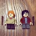LEGO 75953 哈利波特系列 哈利 榮恩 人仔