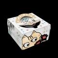 利歐-淘氣貓咪  6/8吋手提派盒 外帶提盒 烘焙包裝 蛋糕盒 禮品包裝 乳酪盒 布丁蛋糕 派盒 下午茶 包裝盒 烘焙盒