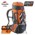 Naturehike Thailand กระเป๋าสะพายหลัง 70+5L backpacks น้ำหนักเบา