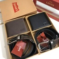 Levi's Belt and Wallet Gift Set เซทสุดคุ้ม