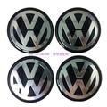 汽車用品 Volks Wagen福斯VW標誌車標 輪轂中心蓋標貼