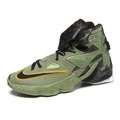 Nike LeBron 13 XIII ASG 男鞋 籃球 LBJ 高筒 迷彩 綠 【運動世界】 837263-309
