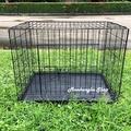 (สีระเบิด) กรงชั้นเดียว พร้อมถาดรองฉี่ กรงสุนัข กรงหมา กรงกระต่าย กรงแมว กรงสัตว์ กรงสัตว์เลี้ยง