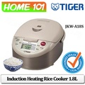 Tiger Induction Heating Rice Cooker 1.8L JKW-A18S