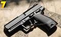 ปืนอัดลมเหล็ก HK USP ชักยิงทีล่ะนัด ลำกล้องยาว 7 นิ้ว