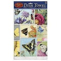 Fiddlers Elbow FLOWER & BUTTERFLY COLLAGE TOWEL by Marjolein Bastin