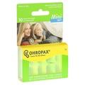 德國 Ohropax Mini Soft 隔音消音抗噪舒適耳塞 CE歐盟認證