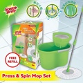 3M Scotch-Brite T4 Press and Spin Mop set with Refill [OFFICIAL 3M STORE]