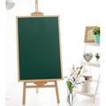 #白板#60*90木框支架式綠板移動白板木架綠板