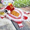 狗衣服 舞龍舞獅狗狗衣服醒獅紅色搞笑新年寵物唐裝喜慶招財貓咪衣服變身 尾牙