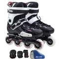 直排輪溜冰鞋成人花式旱冰滑冰鞋成年男女N4型男原創館