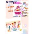 ✿荳荳小舖✿「冰淇淋組合」 冰淇淋攤車39件組+雪糕架組合 家家酒