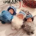 【現貨】韓國睡萌娃娃掛件創意可愛毛球鑰匙扣包包掛飾超萌精品睡眠娃娃